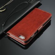 iPhone 5 5S Leather Wallet Stand Case Cover